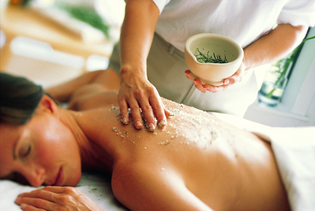 A Scrub Massage Treatment at Lake Austin Spa Resort