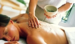A Scrub Massage Treatment at Lake Austin Spa Resort