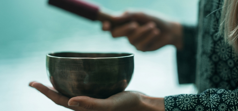 Meditative Arts | Tibetan Bowl Sound Bathing