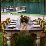 Wedding preparations in Lake Austin Spa Resort