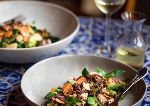Spring Quinoa Salad 1
