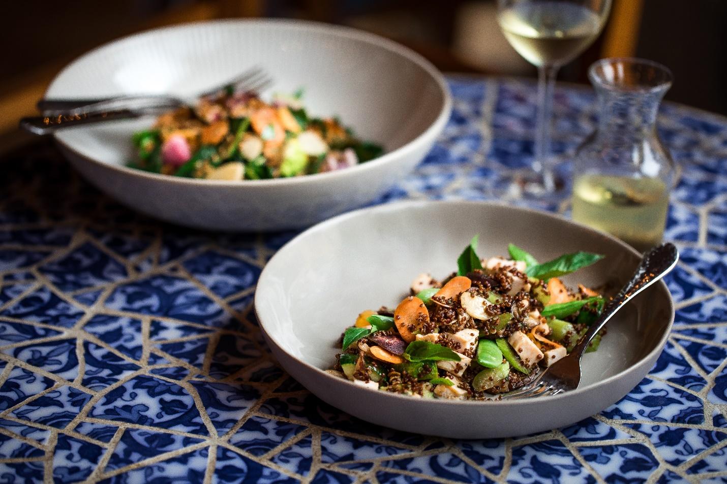 Spring Quinoa Salad 2