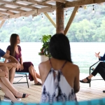 Inspiration & Integrative Wellness Session with Julie Haber on Boat Dock
