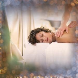 A woman getting a massage at Lake Austin Spa Resort