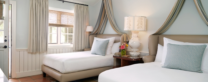 Two queen beds in the Luxury LakeView room